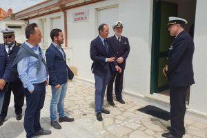 Montalto di Castro - I nuovi uffici della guardia costiera