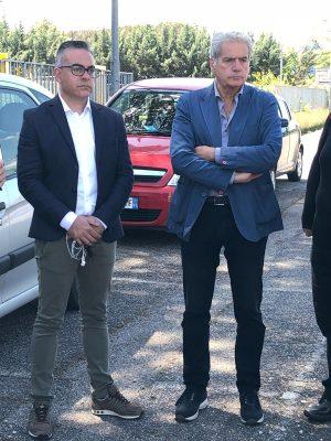 Massimo Basili con Giovanni Arena