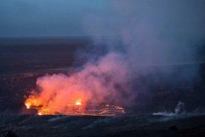 Hawaii - Il vulcano Kilauea erutta