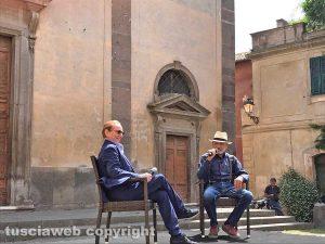 """Tuscania - Osvaldo Bevilacqua presenta """"Alla scoperta dell'Italia. In viaggio con Sereno Variabile"""""""