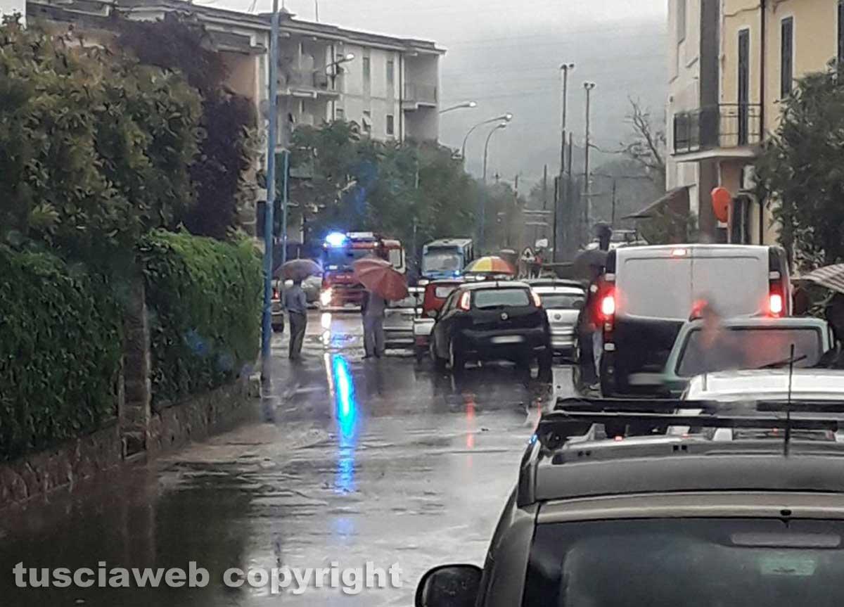 Maltempo nella Tuscia: Orte colpita da una bomba d'acqua