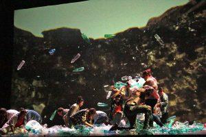 """Viterbo - Teatro dell'Unione - Un momento dello spettacolo """"All this"""""""