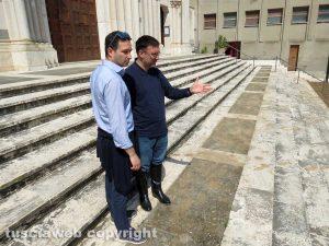 Orte - L'assessore Daniele Proietti