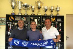 Sport - Tuscania volley - Al centro Bruno Morganti