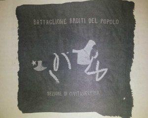 Bandiera arditi del popolo di Civitavecchia