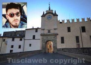 Capranica - Nel riquadro Alessandro Salvati