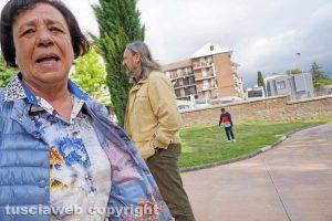 Viterbo - Maria Immordino dell'associazione Solidarietà cittadina