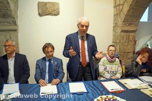 Viterbo - Angelo Pieri, Andrea Santolini, Mario Brutti, Lucia Maria Arena, Luigia Melaragni