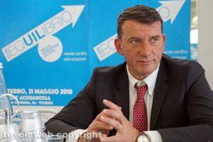 Viterbo - Il segretario Giancarlo Turchetti