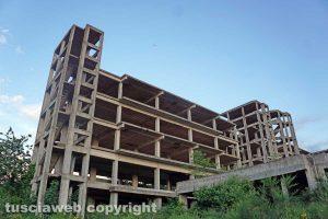 Viterbo - L'ospedale psichiatrico di Belcolle