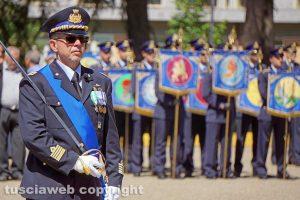 Viterbo - Il colonnello Leonardo Moroni