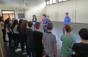 La due giorni di incontri sulla palla ovale nella scuola di Oriolo Romano