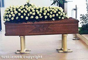 Gaeta - I funerali di Daniele Barchi