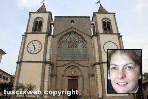 San Martino al Cimino - L'abbazia - Nel riquadro Donatella Canensi
