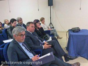 Domenico Merlani, presidente della Camera di Commercio di Viterbo, e Stefania Palamides, presidente Unindustria Viterbo