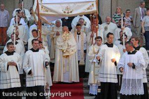Viterbo - La processione del Corpus Domini