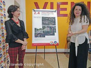 Anna Rita Petroselli e Chiara Frontini