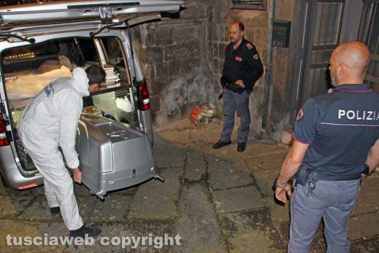 Viterbo - Omicidio in via Fontanella del Suffragio