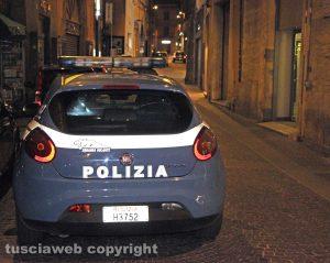 Viterbo - Polizia a Corso Italia