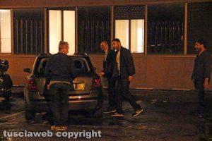 Viterbo - Omicidio in via Fontanella del Suffragio - Il capo della squadra mobile Donato Marano e il pm Stefano D'Arma
