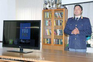 Il capo della squadra volante Riccardo Bartoli presenta l'app You Pol