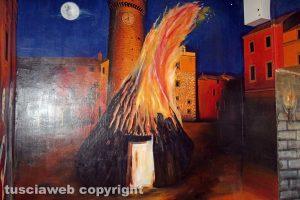 Bagnaia - Il murales