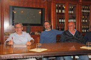 Francesco Serra, Andrea Cutigni e Mario Quintarelli