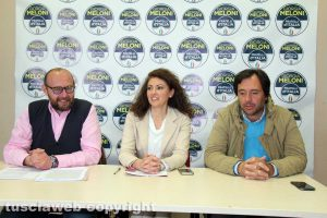 Paolo Bianchini, Maria Teresa Bellucci e Giuseppe Talucci Peruzzi