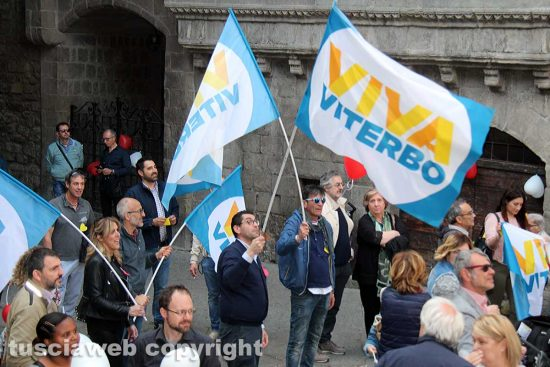 Viva Viterbo - L'incontro a piazza San Pellegrino