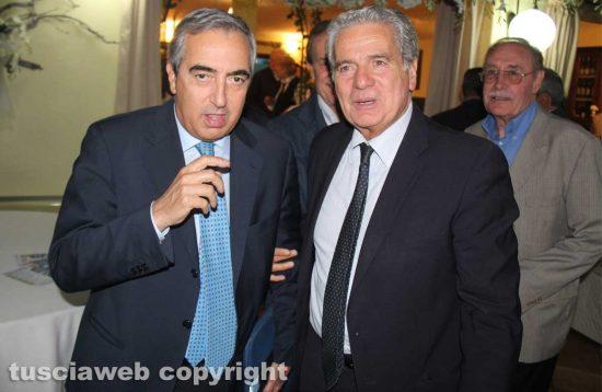 Maurizio Gasparri e Giovanni Arena