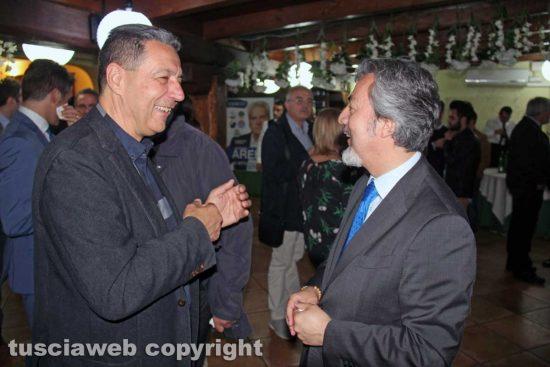 Giulio Marini e Francesco Battistoni