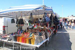 Viterbo - Mercato del sabato al Sacrario