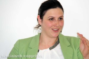 Martina Minchella, segretaria comunale Pd