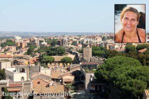 Viterbo - Nel riquadro: Nicoletta Ascenzi