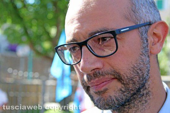Il sindaco di Civitavecchia Antonio Cozzolino