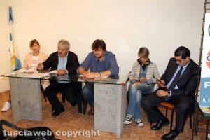 La presentazione delle liste e del prpgramma di Viva Viterbo e Area Civica