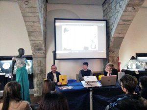 Viterbo - Cna - Incontro tra gli studenti e gli stilisti Baldini e Di Munno