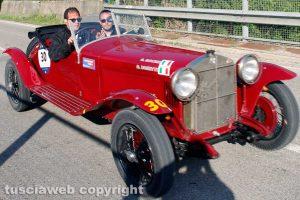 Motori - Mille Miglia - Giovanni Moceri e Daniele Bonetti su Alfa Romeo 6C 1500 Super sport