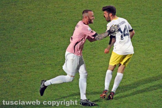 Sport - Calcio - Viterbese - Antony Iannarilli e Luca Baldassin