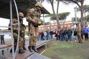 Livorno - Festa del 187° reggimento paracadutisti Folgore