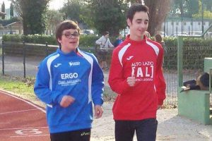 Sport - Atletica leggera - I marciatori viterbesi Santoni e Greto