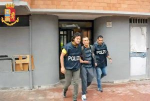 Ostia - L'arresto di Michele Cirillo