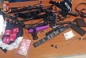 I sex toys sequestrati dalla polizia di Roma