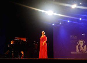 Il mezzosoprano Luisella Capoccia