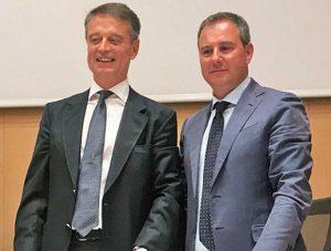 A sinistra Stefano Petrucci, a destra Domenico Merlani