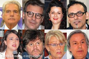 Viterbo - Elezioni comunali 2018 - I candidati sindaco