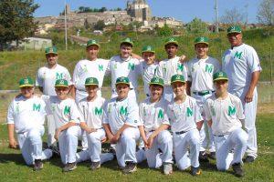 Sport - Baseball - Montefiascone - I ragazzi dell'under 15