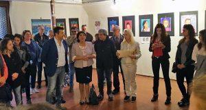 Viterbo - L'inaugurazione della mostra Talenti diversi