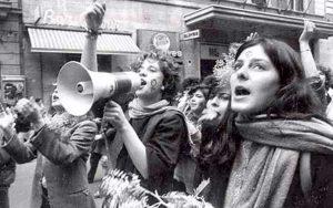 Una manifestazione del Sessantotto