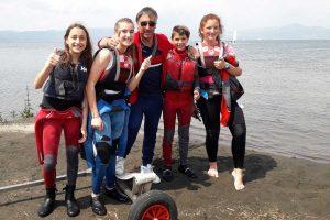 Sport - Vela - L'equipaggio del Paolo III di Canino